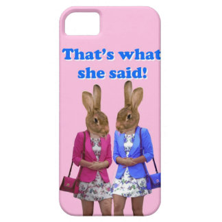 Funny that's what she said text iPhone SE/5/5s case