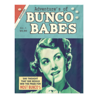 Funny The Adventures of Bunco Babes Flyer