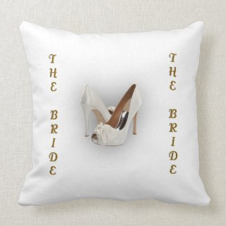 Funny The Bride The Wife American Mojo Pillow