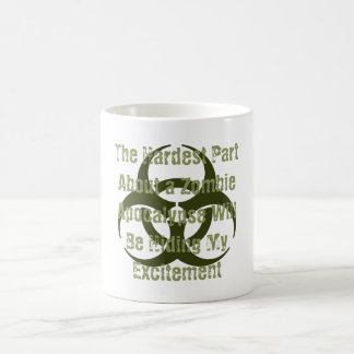 Funny The Hardest Part About a Zombie Apocalypse Coffee Mug