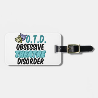 Funny Theatre Bag Tags