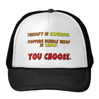 Funny Therapy T-shirts Gifts Trucker Hat