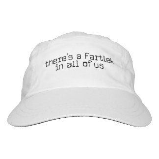 Funny there's a Fartlek in all of us - Running Headsweats Hat