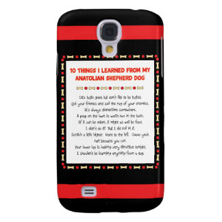 Funny Things I Learned From Anatolian Shepherd Dog Samsung S4 Case