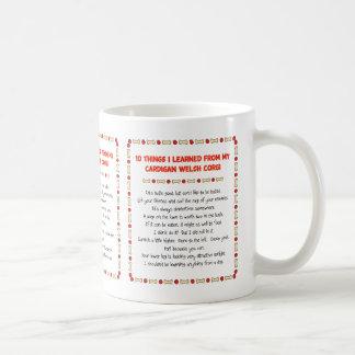 Funny Things I Learned From Cardigan Welsh Corgi Mugs
