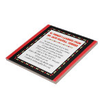 Funny Things I Learned From Jack Russell Terrier Ceramic Tile