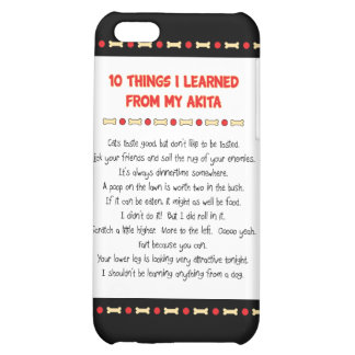 Funny Things I Learned From My Akita iPhone 5C Covers