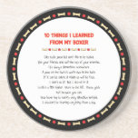 Funny Things I Learned From My Boxer Beverage Coasters