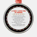 Funny Things I Learned From My Chihuahua Christmas Tree Ornament