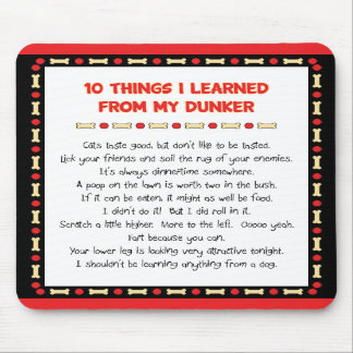 Funny Things I Learned From My Dunker Mousepads