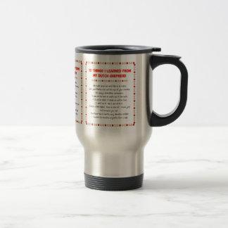 Funny Things I Learned From My Dutch Shepherd Mug