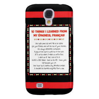 Funny Things I Learned From My Épagneul Français Samsung Galaxy S4 Case