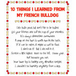 Funny Things I Learned From My French Bulldog Photo Sculptures