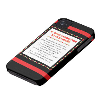 Funny Things I Learned From My Galgo Español iPhone 4 Case-Mate Case
