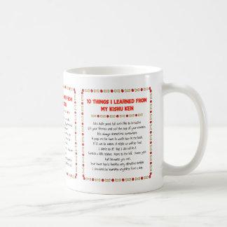 Funny Things I Learned From My Kishu Ken Classic White Coffee Mug