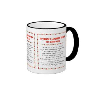 Funny Things I Learned From My Kishu Ken Ringer Coffee Mug