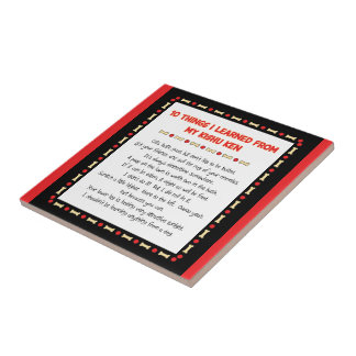 Funny Things I Learned From My Kishu Ken Small Square Tile