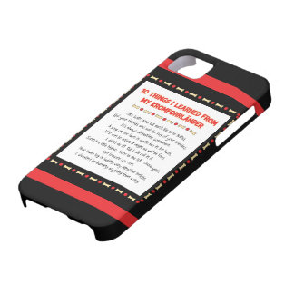 Funny Things I Learned From My Kromfohrländer iPhone 5 Cover