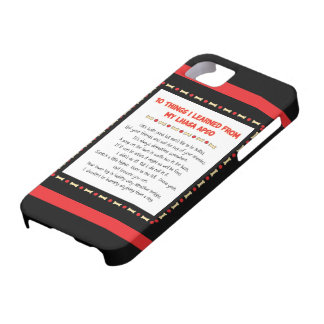 Funny Things I Learned From My Lhasa Apso iPhone 5 Cover