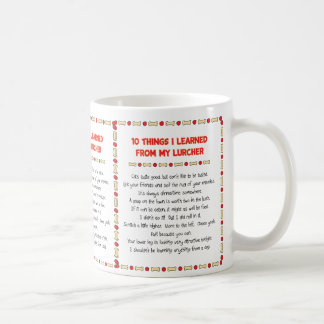 Funny Things I Learned From My Lurcher Coffee Mug
