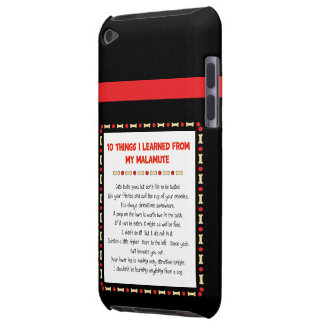 Funny Things I Learned From My Malamute iPod Touch Covers