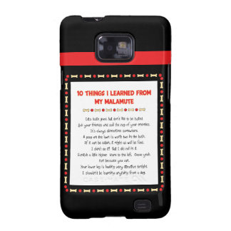 Funny Things I Learned From My Malamute Samsung Galaxy S Cases
