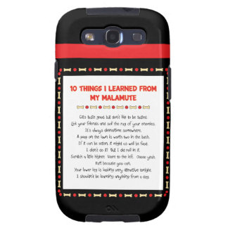 Funny Things I Learned From My Malamute Galaxy S3 Cases