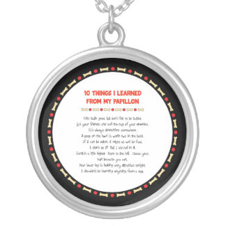 Funny Things I Learned From My Papillon Silver Plated Necklace
