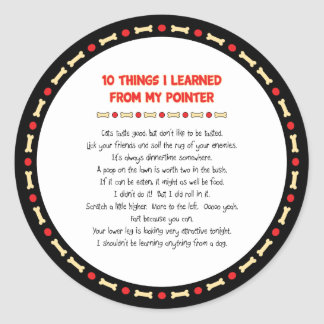 Funny Things I Learned From My Pointer Stickers