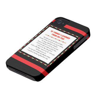 Funny Things I Learned From My Pug iPhone 4 Case-Mate Case