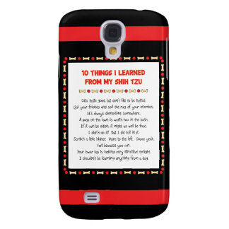 Funny Things I Learned From My Shih Tzu Galaxy S4 Cover