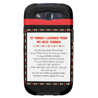 Funny Things I Learned From My Skye Terrier Samsung Galaxy S3 Cover