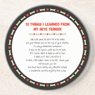 Funny Things I Learned From My Skye Terrier Drink Coaster