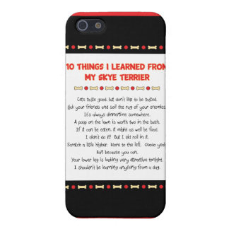 Funny Things I Learned From My Skye Terrier Cases For iPhone 5