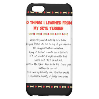 Funny Things I Learned From My Skye Terrier Case For iPhone 5C