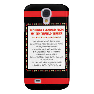 Funny Things I Learned From My Tenterfield Terrier Samsung Galaxy S4 Case