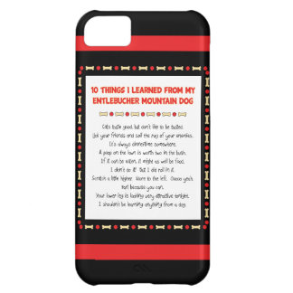 Funny Things Learned From Entlebucher Mountain Dog Case For iPhone 5C