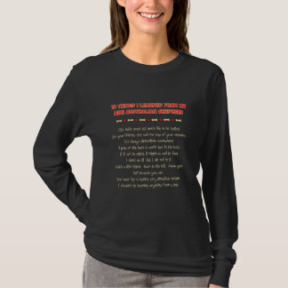 Funny Things Learned From Mini Australian Shepherd T-Shirt