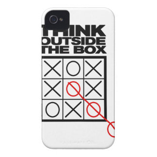 Funny Think Outside the box Case-Mate iPhone 4 Cases