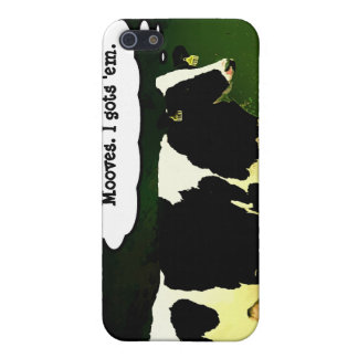 Funny Thinking Cow Cover For iPhone SE/5/5s
