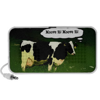 Funny Thinking Cow Mp3 Speaker