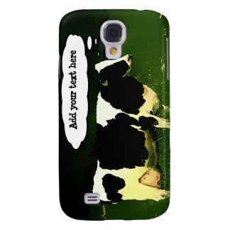 Funny Thinking Cow Samsung Galaxy S4 Cover
