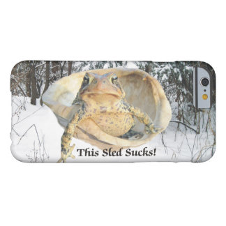 Funny This Sled Sucks Toad in Turtle Shell Barely There iPhone 6 Case