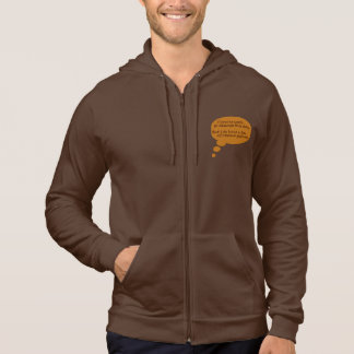 Funny Thought Bubble Hoodie