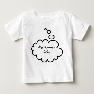Funny Thought Bubbles Baby T-Shirt