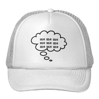 Funny Thought Bubbles Trucker Hat