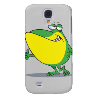 funny thumbs up frog froggy cartoon galaxy s4 case