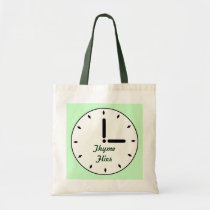 Funny Thyme Flies Garden Groceries Theme Canvas Tote Bag at  Zazzle