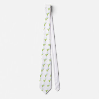 Funny tie with Lime cocktail
