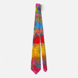 Funny Ties: Wash Acrylic Colors Dirty Tie. Tie